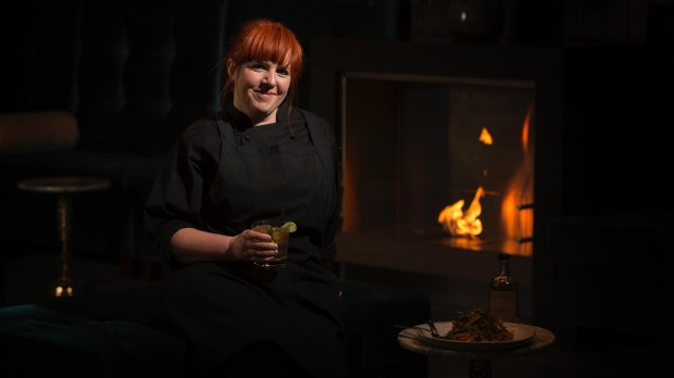 Executive chef Jennie Tressler at the new First Edition Bar & Dining at Novotel Canberra.