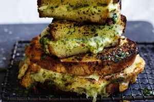 When garlic bread meets cheese toastie.