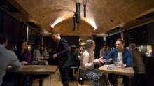 Inside <i>Good Food Guide</I> Bar of the Year, Arlechin, which has had plenty of people coming in offering congratulations.