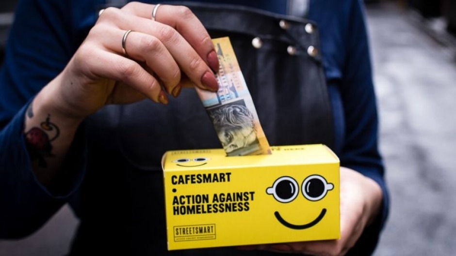 On August 3, cafes around the country will raise money to help ease homelessness during CafeSmart.