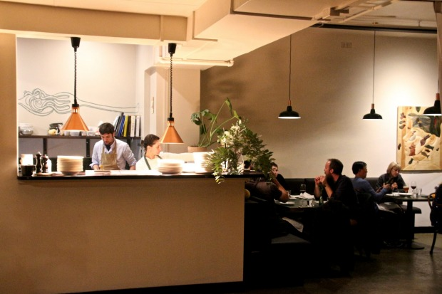 Pared-back bistro Fico in Hobart.