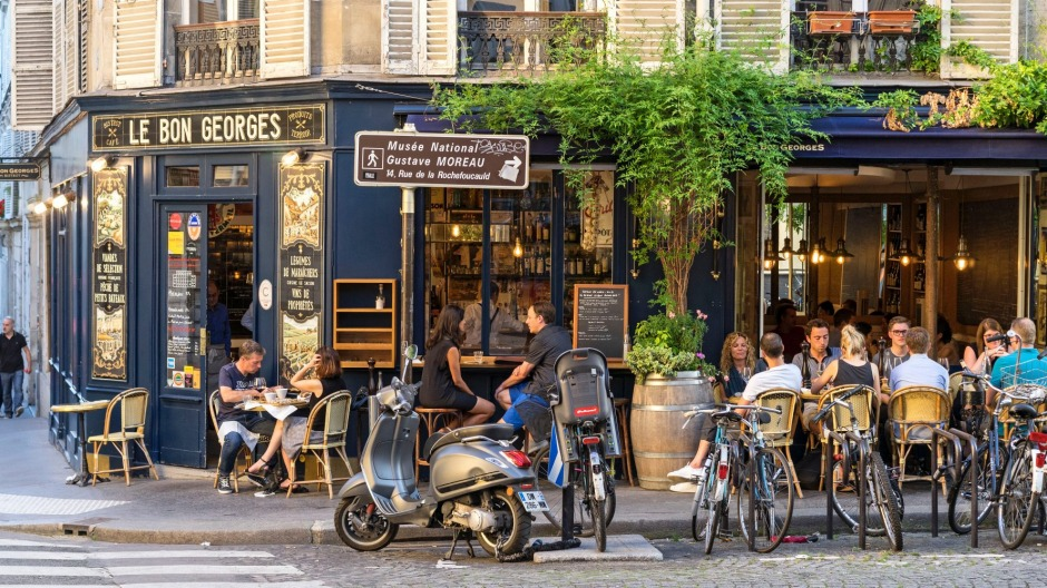 Le Bon Georges is one of the new wave bistros in Paris.