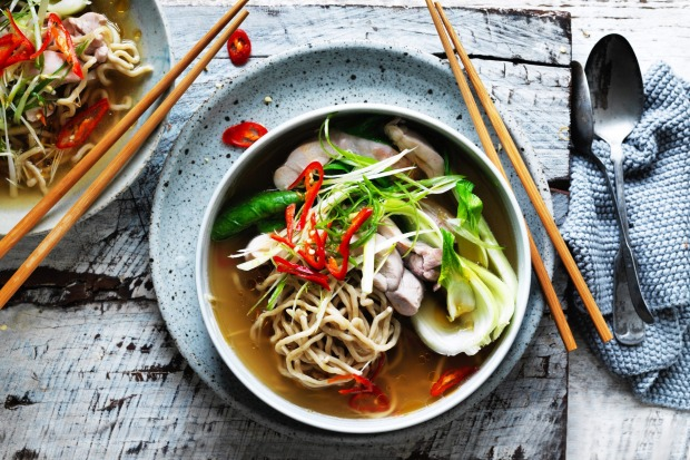 Kylie Kwong's Chinese chicken noodle soup with a chilli kick <a ...