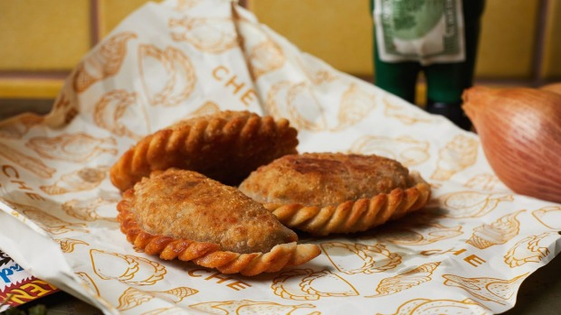 CHE's empanadas come with traditional and creative fillings.