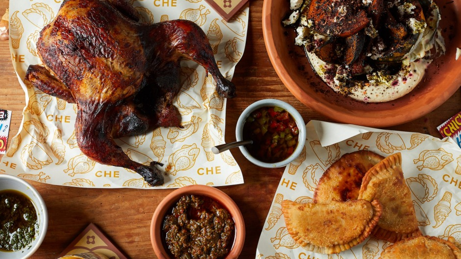 Chicken, helados and empanadas form the core of the menu at CHE.