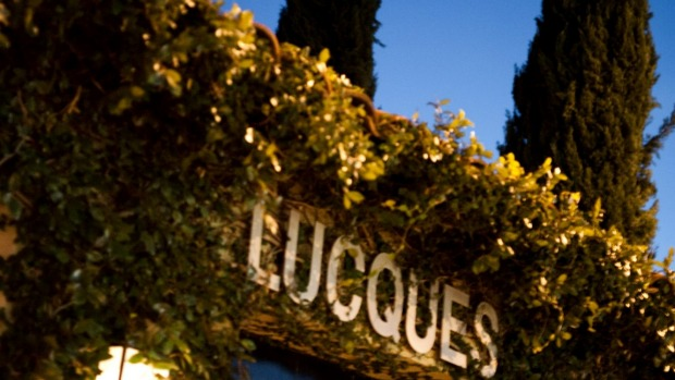 Lucques is a fine diner with both feet planted in hyper-seasonality.