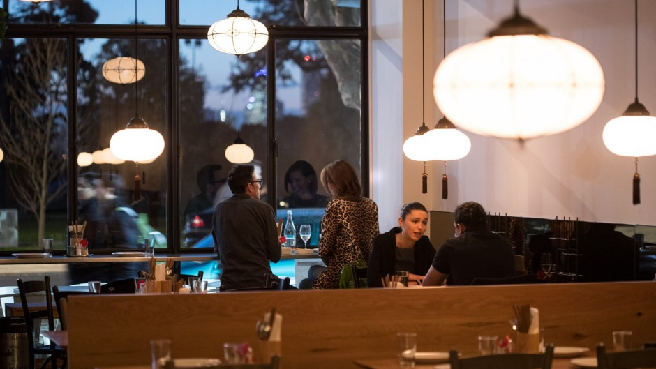 St Kilda's Supernormal Canteen is casual and designed for getting up close and personal.