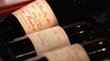 The complete 62-bottle set fetched $230,000 at auction.
