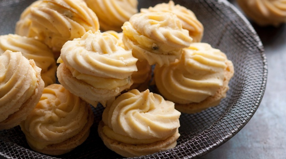 Sweet biscuits will absorb water and become soft over time, unless they have been made with invert sugar.