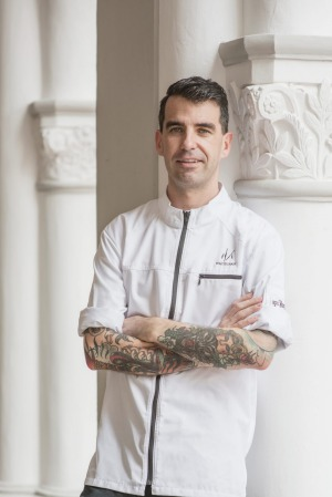 Sam Aisbett, of Whitegrass restaurant in Singapore.