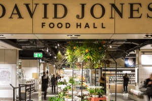 David Jones' new food hall at Bondi Junction which will be emulated in Melbourne at Malvern.