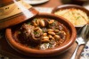 Slow-cooked lamb shank tagine at Yalla Sawa
