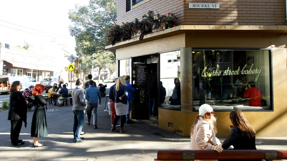 Worth the queue: Bourke Street Bakery in Surry Hills.