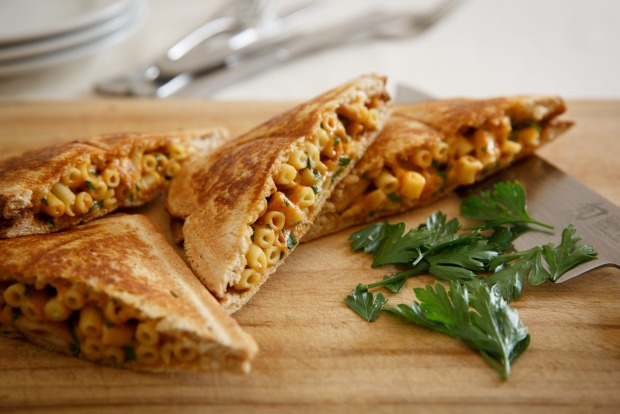 Frank Camorra's mac and cheese jaffle <a ...