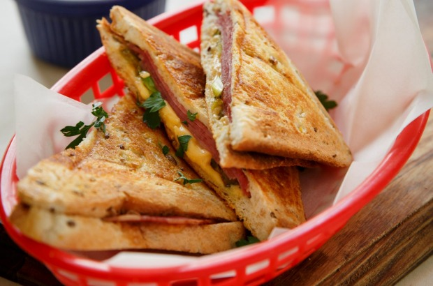 Or pair corned beef with gouda cheese and jalapenos instead <a ...