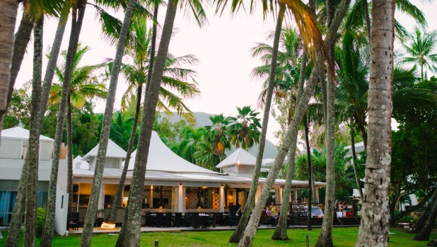 NuNu in Palm Cove is only a coconut toss away from the Coral Sea.