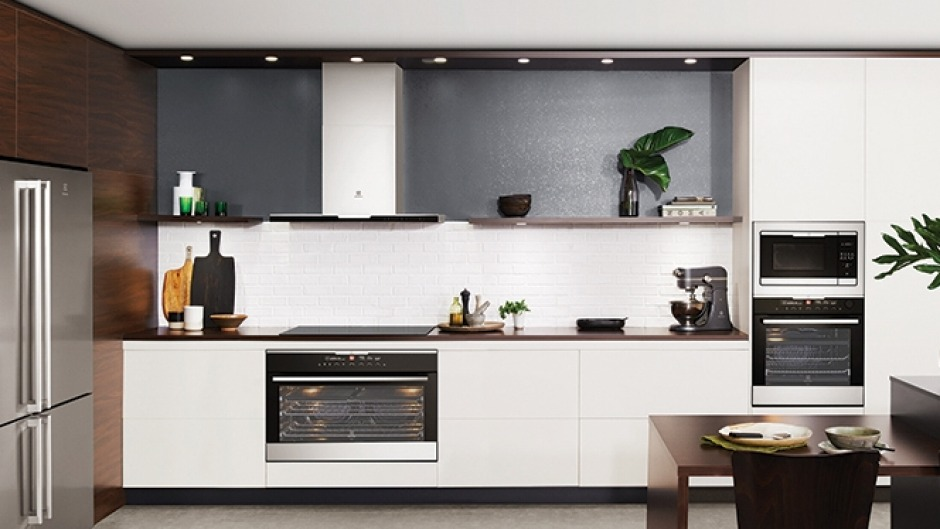 Full steam ahead: The Electrolux 60cm multifunction 16 steam oven.