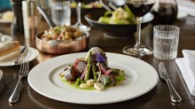 QT Museum's Hippopotamus is a glamorous French restaurant and bar with impressive harbour views.