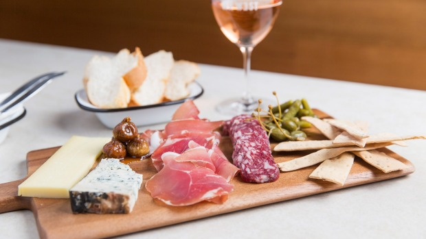 Cheese and charcuterie is served in-house but takeaways are welcome.