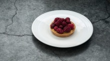 Best of British: A loganberry tart from Lyle's.