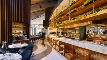 Moving on: Rosetta's luxe surrounds.