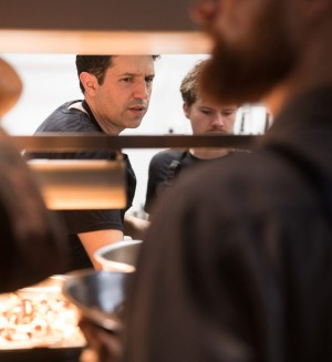 Owner-chef Ben Shewry in action at Attica.