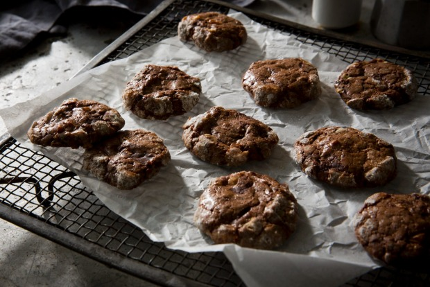 Karen Martini's chocolate and coffee brownie biscuits <a ...