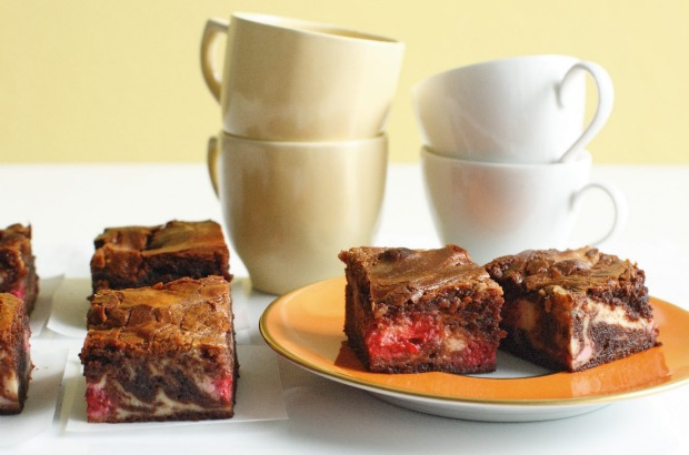 Raspberry cheesecake brownies <a ...