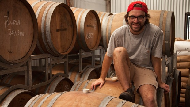 Wildflower Brewing and Blending founder Topher Boehm.