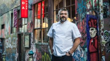 Frank Camorra, executive chef at MoVida, is working through the red tape of outdoor dining.