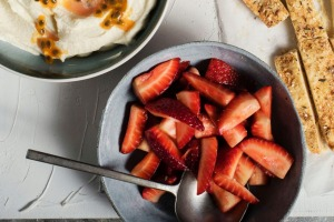 Now is a great time to stock up on strawberries while they are relatively cheap.