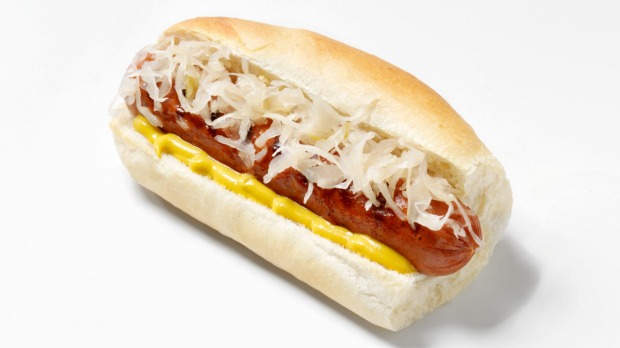 Highly processed foods like hot dogs cause cells to age prematurely, research finds.