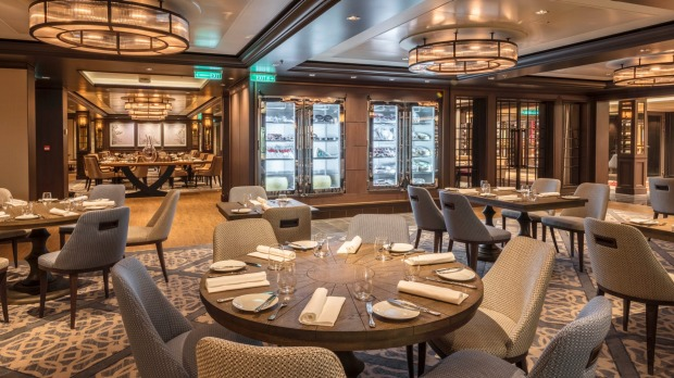Bistro by Mark Best on the Genting Dream.