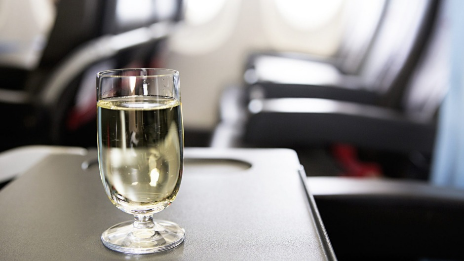 Wine behaves far differently in the sky than it does on the ground.