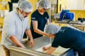 Adam Liaw gets hands-on with the cheesemaking process at Grandvewe.