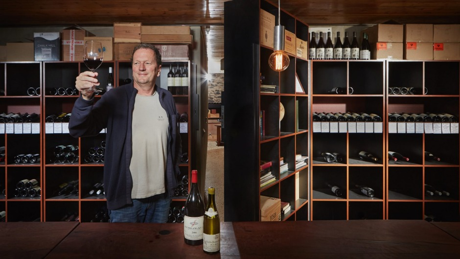 Deep appreciation: Doug Govan restored an original cellar at the Victory Hotel.