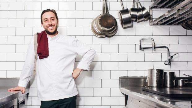 Chef Daniel Puskas of Sixpenny, Stanmore.
