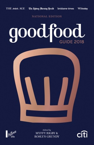 The Good Food Guide 2018.