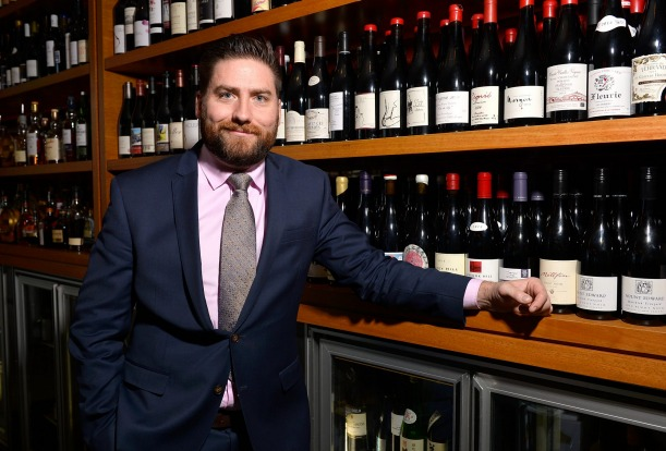 Wine List of the Year: Ian Trinkle, sommelier from Aria.