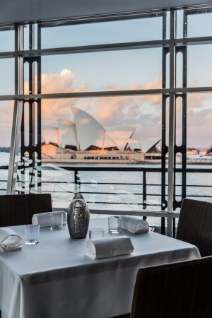 Quay's dining room takes in many of Sydney's best-known landmarks.