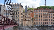 Lyon, the culinary capital of France.