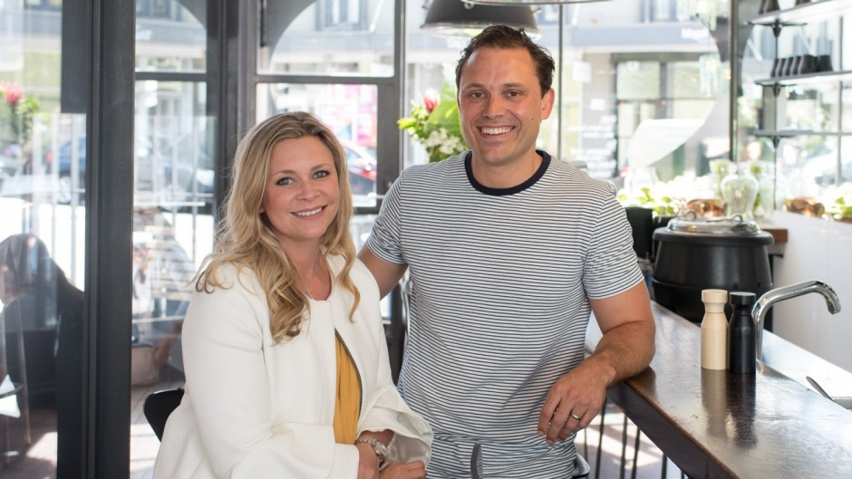 Lucy and Jono Bowman, new owners of Jackie's in Paddington.