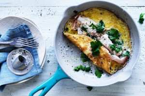 Neil Perry's ham omelette.