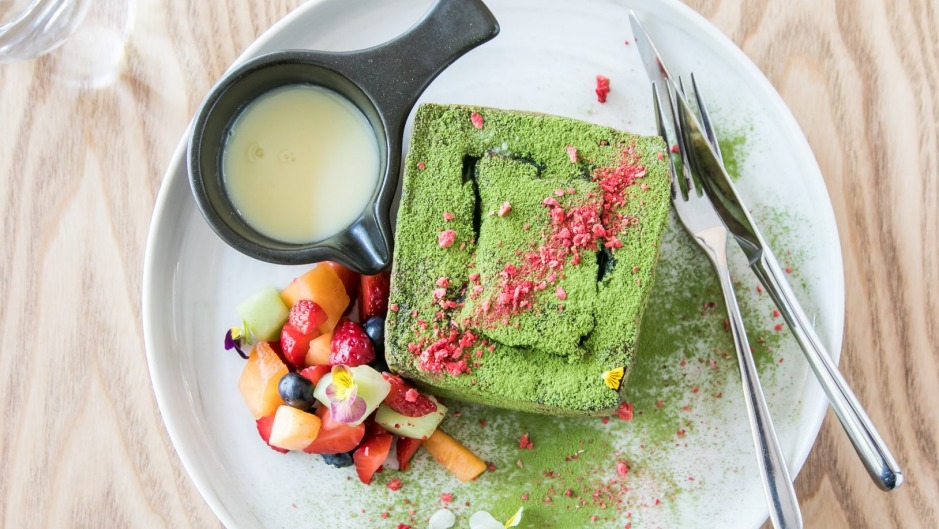 Made for Instagram: Meet Mica's matcha french lava toast.