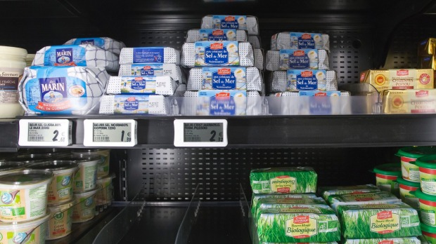 Supermarkets in France are experiencing butter shortages.