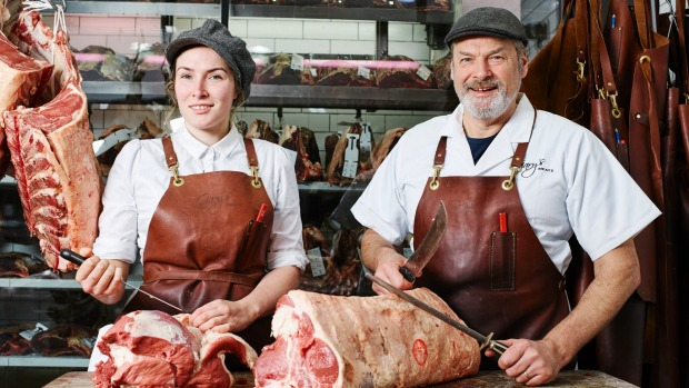 Ashley and Gary McBean from Gary's Quality Meats.