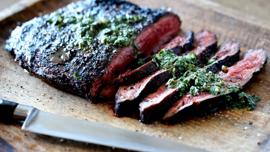 Tom Walton recommends keeping sauces on hand, like chimichurri, to spoon over meat, fish and grilled veg.
