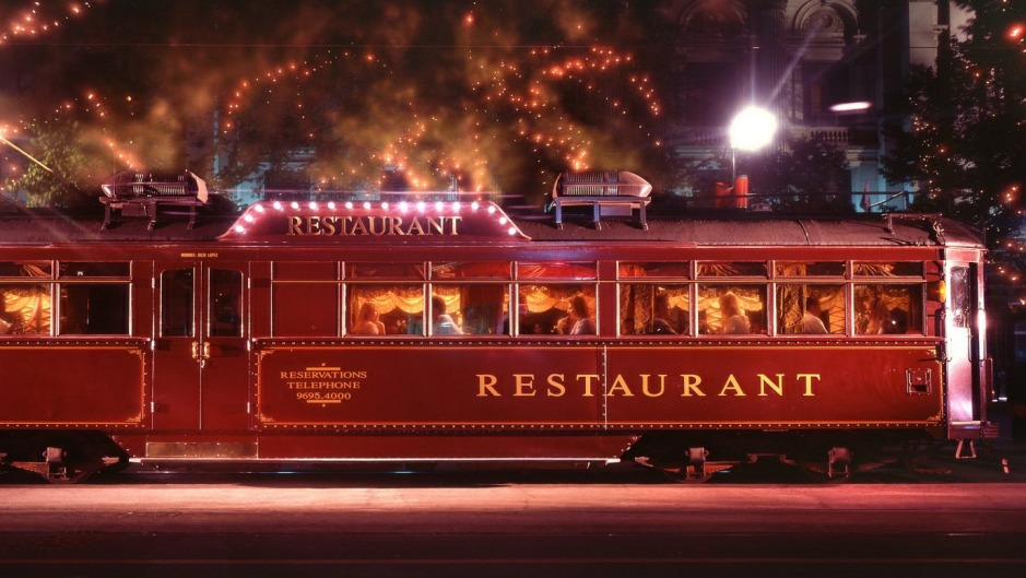 The Colonial Tramcar Restaurant.