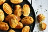 "Blue cheese madeleines <a href=""https://www.goodfood.com.au/recipes/blue-cheese-madeleines-20160524-4fh2l""><b>RECIPE ..."