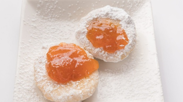 Dessert is a clear choice: fresh hot Hungarian doughnuts, showered in powdered sugar and dolloped with the jam of your ...
